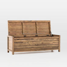 Natural Rustic Finish Storage Bench and Trunk