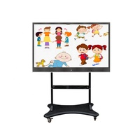 75 inch touch screen monitor interactive screen whiteboard computer with school teaching application