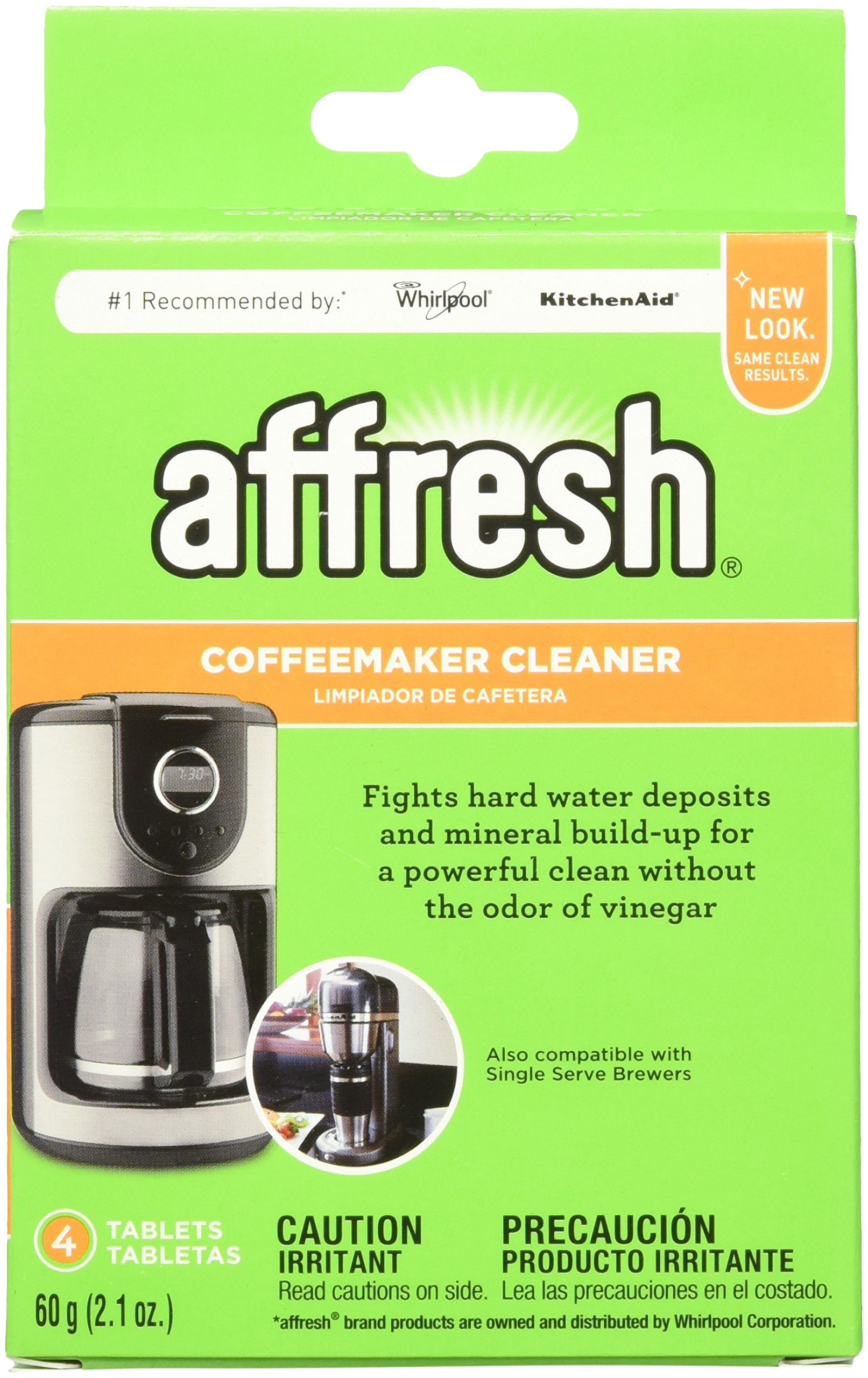 Get Quotations Affresh W10511280 Coffeemaker Cleaner 4 Tablets