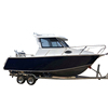21ft aluminium cuddy cabin boat for sale red queen fish boats
