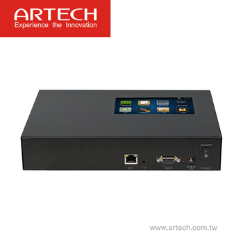 ARTECH AQSx - SIP stand-alone voice recorder, 500GB hard disk storage, 5inch touch screen