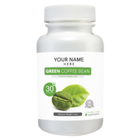 Private Label Green Coffee Bean Extract Capsules
