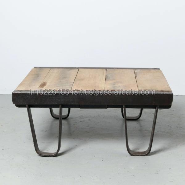Vintage Industrial Metal Coffee Tableliving Room Coffee Tablereclaimed Wood Coffee Table Small Coffee Table Buy Indian Metal Coffee Tablessquare