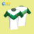 100% Polyester Soccer Jerseys Custom Printed T-Shirt