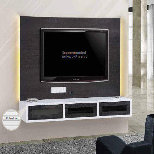 modern wall hanging type tv cabinet with showcase in malaysia - buy