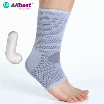 Elastic Stretch Spandex Ostearthritis Ankle Support Braces Padded