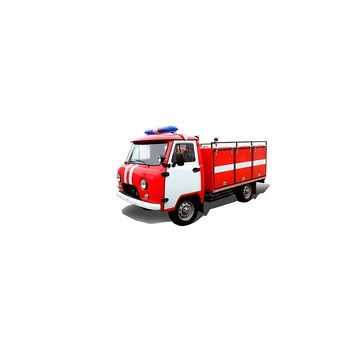Firefighter Vehicle UAZ New Car Fire Truck