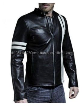 Wholesale Mens Biker Latest Design Genine Leather Jacket For Men ...