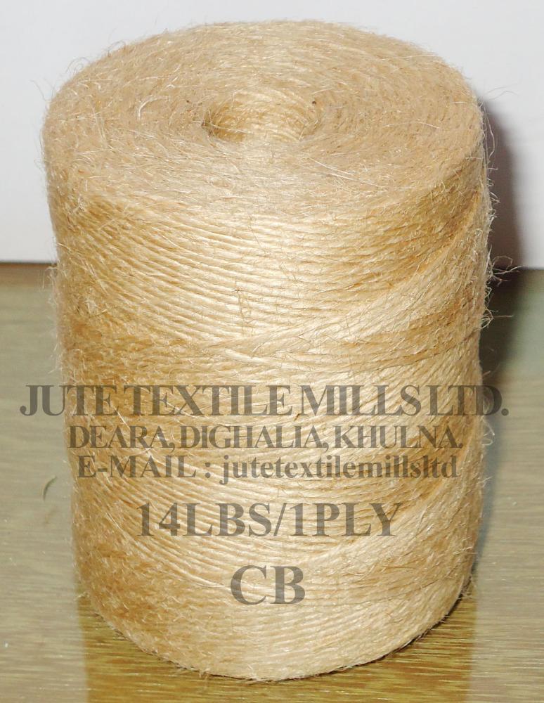 High Quality of Jute Yarn 14 LBS / 1 PLY CB