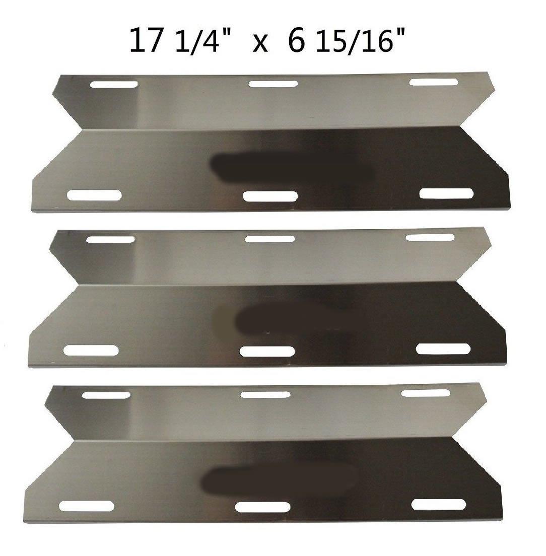 Stainless Steel Heat plate Replacement Charmglow,Nexgrill,Jenn-Air Gas Grill 3pk