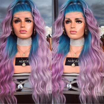 New Arrival Bod Wave Blue Purple Ombre Wig 100 Human Hair Purple Ombre Hair Wig Buy Blue Purple Ombre Wig Purple Ombre Hair Wig Ombre Blue Wig