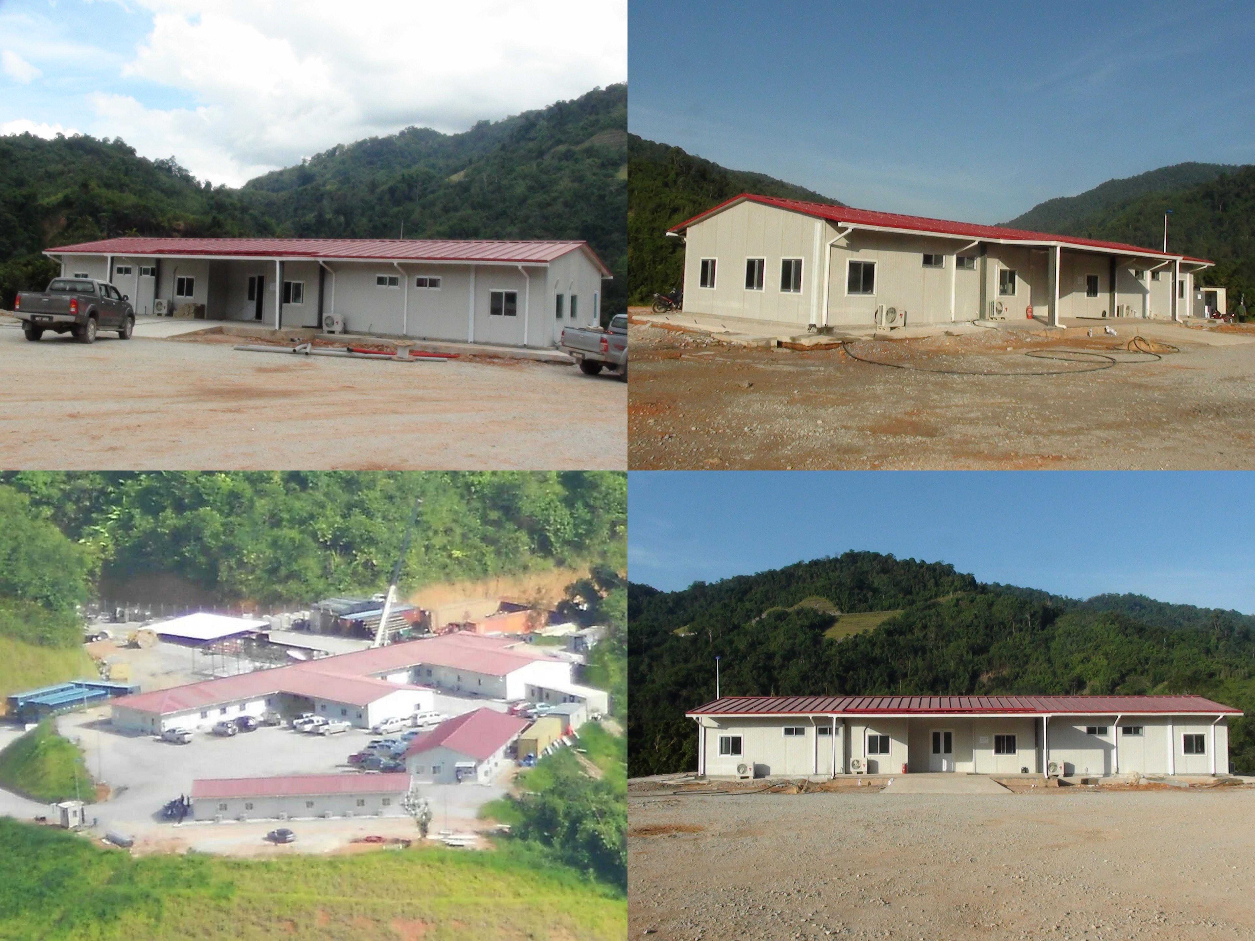 Nigeria struttura in acciaio dell'edificio per officina magazzino della fabbrica