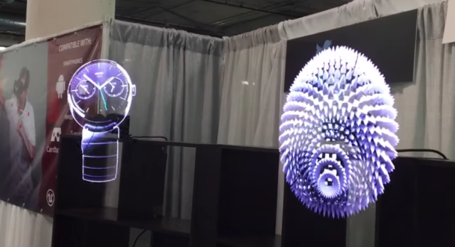 Hypervsn Hologram Display 3d Led Fan Holographic Projector