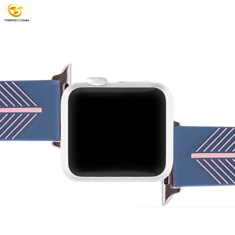 For Apple Wrist Bands Rubber Silicone Bracelet For Iwatch 4