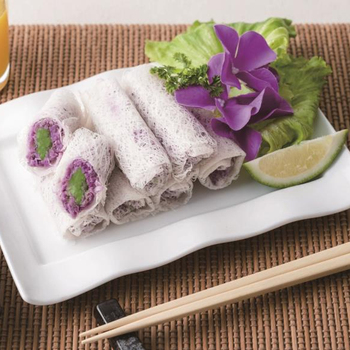 Frozen Crispy Nyonya Styled Yam Roll Halal Frozen Food - Buy Halal Food  Products Supplements,Halal Asian Snack Halal Food Cart For Sale,Fried Food