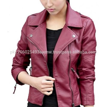 11c1975f3573 Girls Stylish Leather Bomber Jacket stylish Leather Jackets Outfits ...