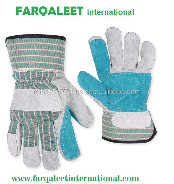 superior double palm glove factory