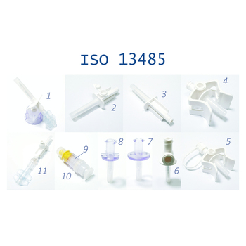 medical air vented spike or without air vent, vial adapter with filter, vial access ISO 13485