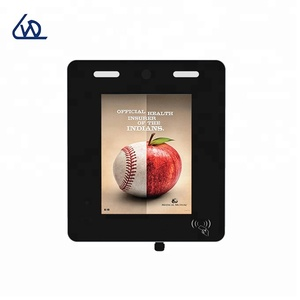 Outdoor 12.1 inch android monitor with access control system