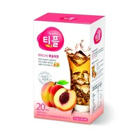 Stick type peach flavored instant ice tea