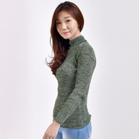 CARTEXBLANCHE - Twist Turtleneck - Woman Apparel - Pullover Sweater Warm - made to order - VARIOUS COLORS