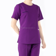 Made in Vietnam da HATHANH UNIFORME 100% <span class=keywords><strong>Cotone</strong></span> moda <span class=keywords><strong>medico</strong></span> <span class=keywords><strong>scrub</strong></span> usa e getta/tuta di macchia/infermiere ospedale uniforme disegni