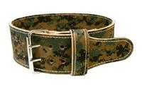 custom camo weight lifting belts