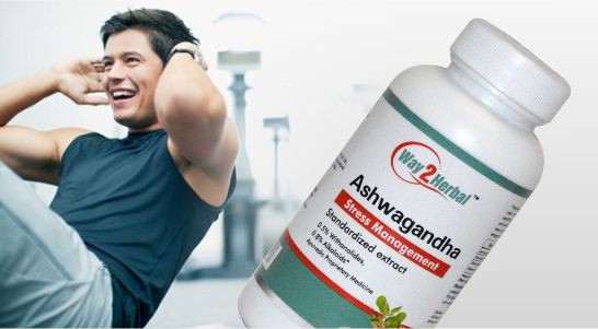 way2herbal ashwagandha root350 mg capsules120 counts