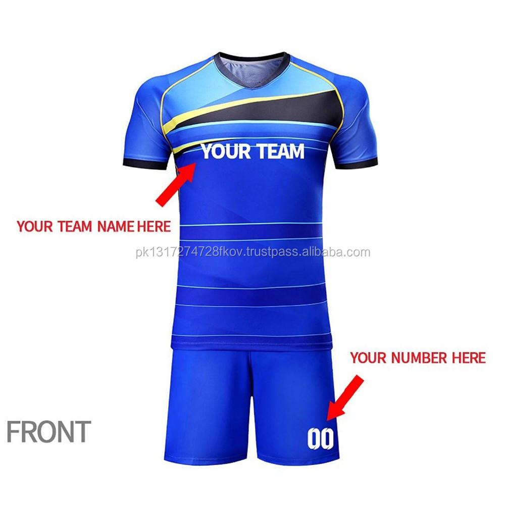 2018 Latest Football Jersey Designs Quality Cheap Soccer Jerseys