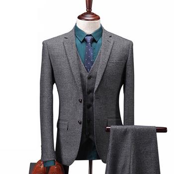 2018 Popular Stock Purple Pant Coat Design Office Formal Business