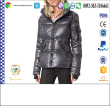 New Brand Quilted Jacket For Women with hood
