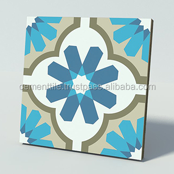 CTS 16.8 Encaustic cement tile made in Vietnam high quality export to USA