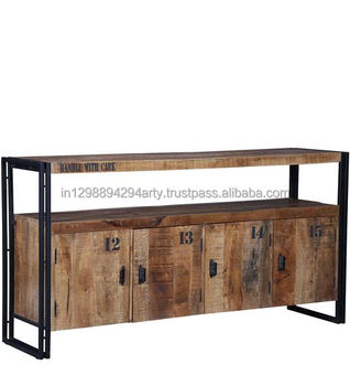 Furniture Solid Wood Metal