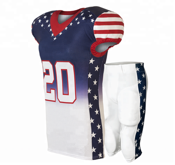 a21440767 Sublimation Design Your American Football Jersey - Buy Custom ...