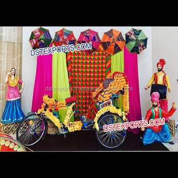 Punjabi Wedding Jago Mehndi Night Decorations/fiber Statues Wedding Mehandi  Stage/punjabi Theme Wedding Mahiyan Stage , Buy Indian Mehndi
