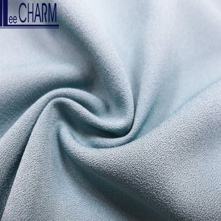 LCL278 High Quality Satin Moss Crepe De Chine Polyester Fabric