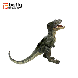 Vivid mini plastic toy t-rex dinosaur model for collection