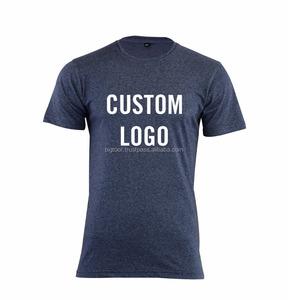 OEM Wholesale Short Sleeve Men's Custom Printed Tee Shirt