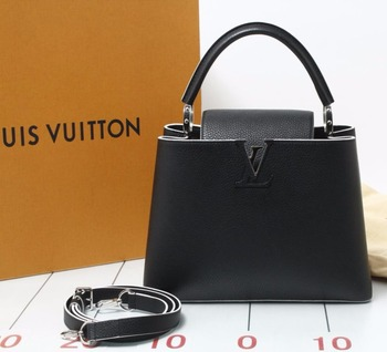 5eb116e1a398 Pre-owned LOUIS VUITTON Capucines Hand Bag  used original brand bag in bulk  for