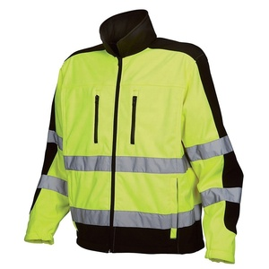 Man safety workwear security / Harrington Security work jacket /Bomber Fly Military Security jacket/Safety Work fleece jacket