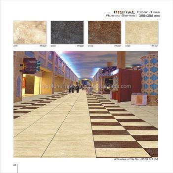 Indian Tiles Floor Designs Latest Building Materials Glazed Rustic