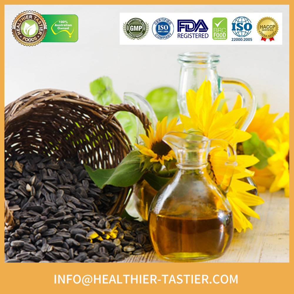 Organic super grade high quality sunflower oil refined with good price