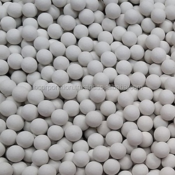 Ceramic balls for water treatment
