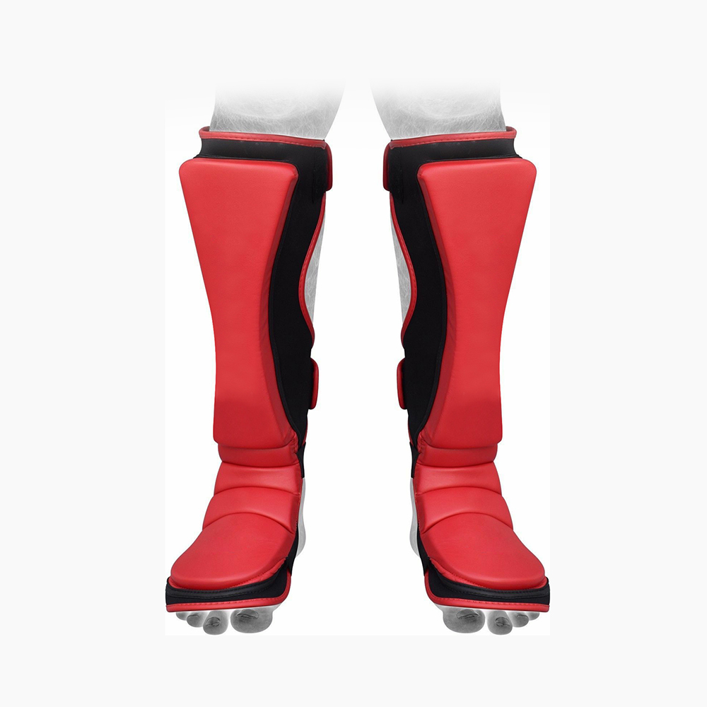 Shin Instep Boxing Guard แผ่น MMA Kick Protector การฝึกอบรม Guards