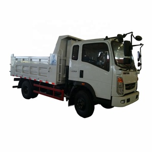 Howo 3800mm wheel base 4x2 266HP 17ton dump truck