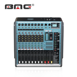 BMG 2017 Professional 8 Channels New Echo Mixer Amplifier for Mosque Sound System and Mixer with Bluetooth