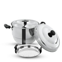 Stainless steel idli cooker Induction cooktop