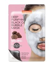 [PUREDERM] DEEP PURIFYING BLACK O2 BUBBLE MASK _ KOREA COSMETICS