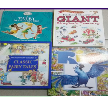 Used Children Books/Story Books in Nice Condition for Sale