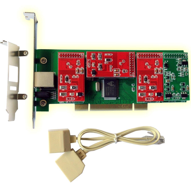 Sangoma B600 Non-Modular Analog Asterisk Voice PCI Card 4 FXO 1 FXS 0 EC